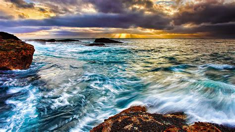 Sea Waves Wallpaper Animated - animated sea wave hd wallpapers