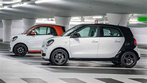 20182019 Smart Fortwo And 20182019 Smart Forfour  A New