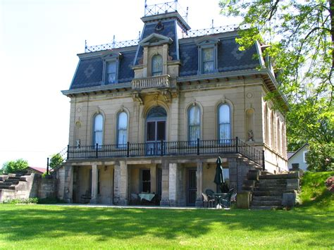 style mansions architectural styles of southern indiana second empire
