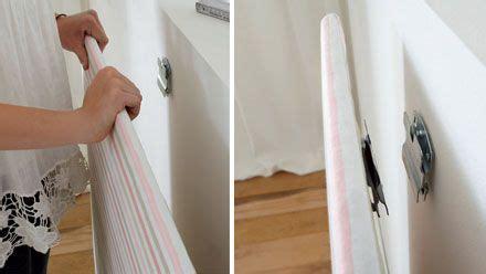 mit stoff bezogene spanplatte an der wand anbringen haus in 2019 schlafzimmer ideen