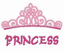 Princess Crown Logo Pr...Pink Princess Crowns Logo