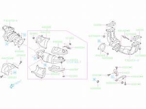 Subaru Outback Exhaust Manifold Heat Shield