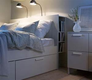 Couch Bett Ikea : bett brimnes bei ikea sch ner wohnen ~ Indierocktalk.com Haus und Dekorationen