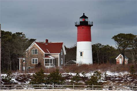 Photo 37508 Nauset Lighthouse In Cape Cod North Eastham