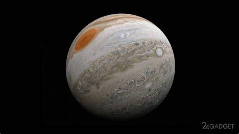 Zinātnieks no NASA Juno fotogrāfijām izveidoja video par ...