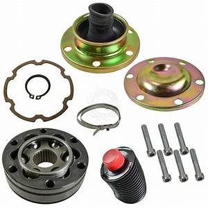 Front Driveshaft Rear Cv Joint Rebuild Kit For Jeep Liberty