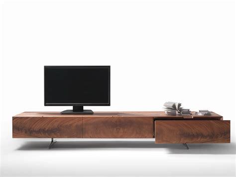 Tv Lowboard Design by Tv Lowboard Aus Holz Kollektion Piuma By Flexform Design