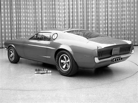 1965 Ford Mustang Mach 1 Prototype Concepts