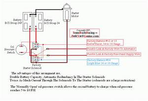 Dual Battery Diagrams With Redundant Electrical System