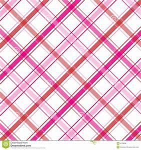 Pink Plaid Stock Photo - Image: 4128090