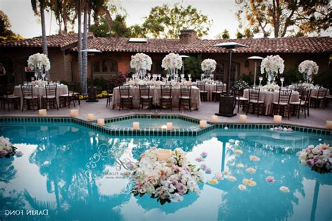 Pool Decoration by Pool Decorations For Wedding
