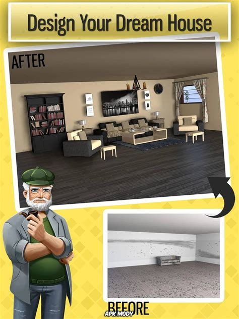 home design dreams  money mod apk  apk mody