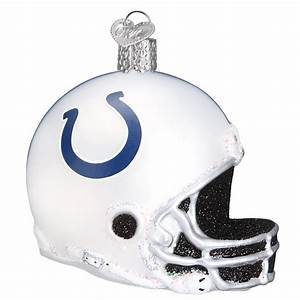 OLD WORLD XMAS 71417 Indianapolis Colts Helmet Ornament