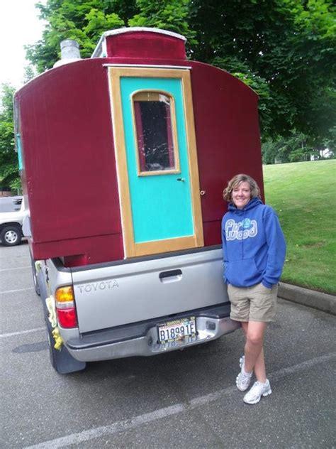custom built truck bed micro camper  fits toyota tacoma