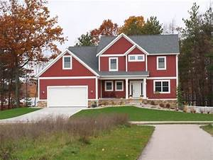 red barn or boothbay blue exterior inspiration on the With barn red house paint