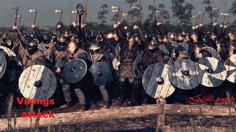 viking attack total war attila youtube