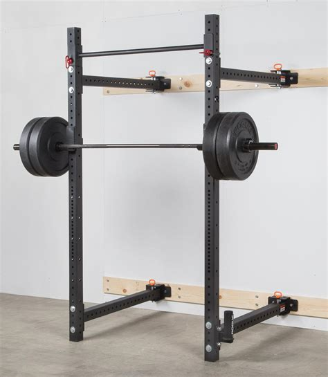 wall mounted weight rack rogue rml 3w fold back wall mount rack rogue fitness