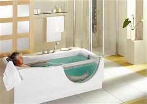 Sitzbadewanne Mit Dusche : gestatten duscholux badewanne mit t r behinderten badewanne aus acryl acrylwannen ~ Frokenaadalensverden.com Haus und Dekorationen