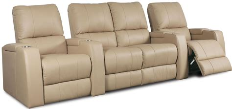 theatre with reclining seats playback bonded leather home theatre seating psr 41403