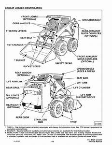 New Bobcat 773 Skid Steer Loader Service Repair Manual 550
