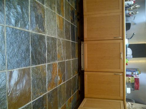slate floor kitchen sealing slate tiles northtonshire tile doctor