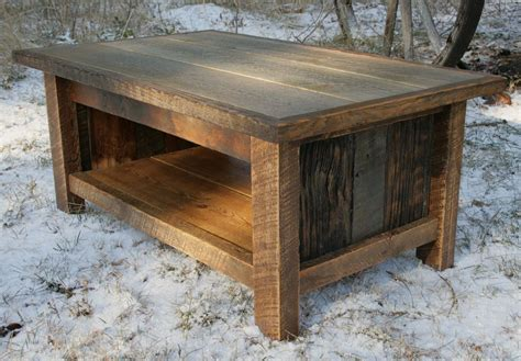 solid wood dining table toronto crafted rustic reclaimed coffee table by echo peak