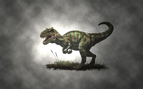 Animal Dinosaur Wallpaper - animals dinosaurs t rex nature drawing artwork