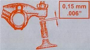 Valve Adjustment Sticker  Fits On Fan Shroud  1969  Beetle