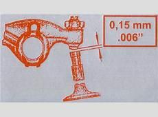 Valve Adjustment Sticker, Fits on Fan Shroud, 1969+ Beetle