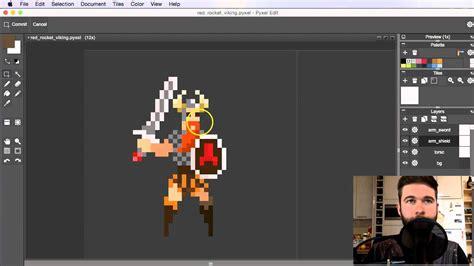 pixel art tutorial part  setting  layers youtube