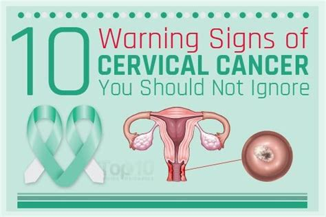 10 Signs Of Cervical Cancer  Top 10 Home Remedies