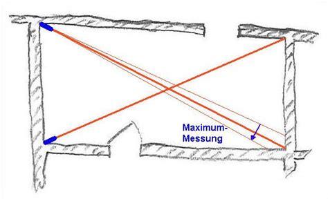 rechten winkel ausmessen rechte winkel mit dem laser entfernungsmesser pr 252 fen 1