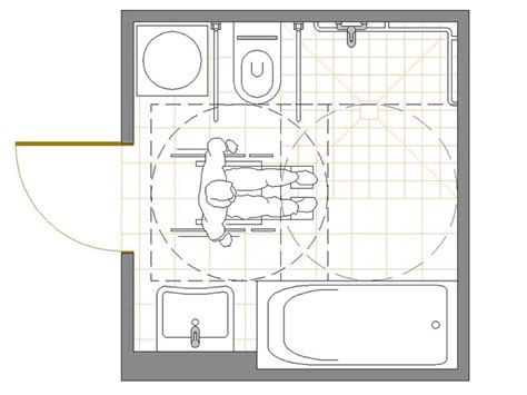 behinderten wc planung din 18040 2 bad wc nullbarriere