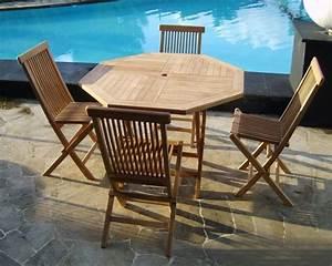 Salon Jardin Teck : meubles de jardin en teck table de jardin aluminium pas cher maisonjoffrois ~ Teatrodelosmanantiales.com Idées de Décoration