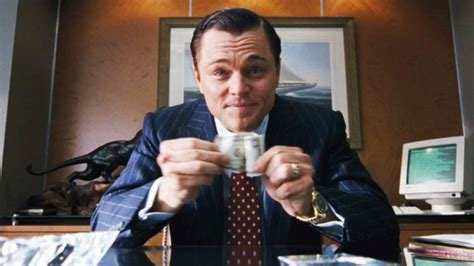 Leonardo DiCaprio had a bizarre