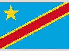 Kongo, Demokratische Republik ehem Zaire Flaggen der