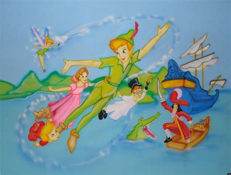 peter pan disney cartoon background  ipod cartoons