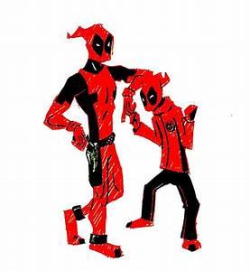 Deadpool and kidpool by jCalSOS on DeviantArt