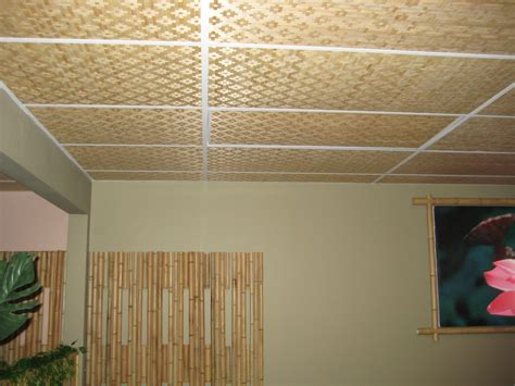 4 X 8 Drop Ceiling Panels by Quality Bamboo And Asian Thatch Wall Covering S Bamboo