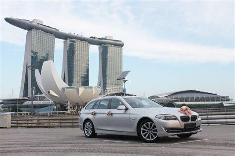 champagne bmw  wagon perfect wedding cars singapore