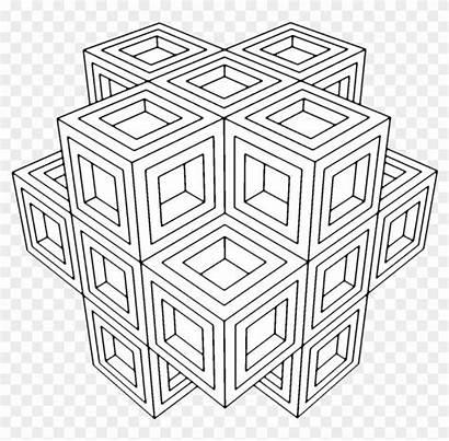 Coloring Geometry Sacred Geometric Adult Mindfulness Ups
