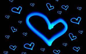Neon Hearts And Stars Wallpaper 17859 Hd Widescreen ...