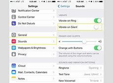 How To Turn Off Vibration When In Silent Mode In iOS 7