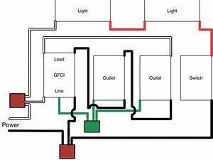 Electrical - How To Add Gfci-protected Switches And Lights To A 2-wire Garage Circuit