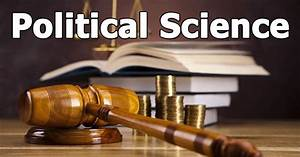 Scope of studyi... Political Science