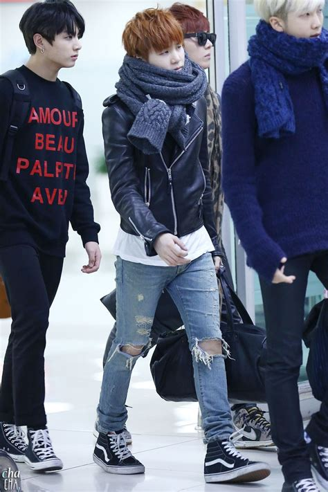 26 best BTS Suga Airport Fashion images on Pinterest   Airport fashion Bts airport and Bts boys