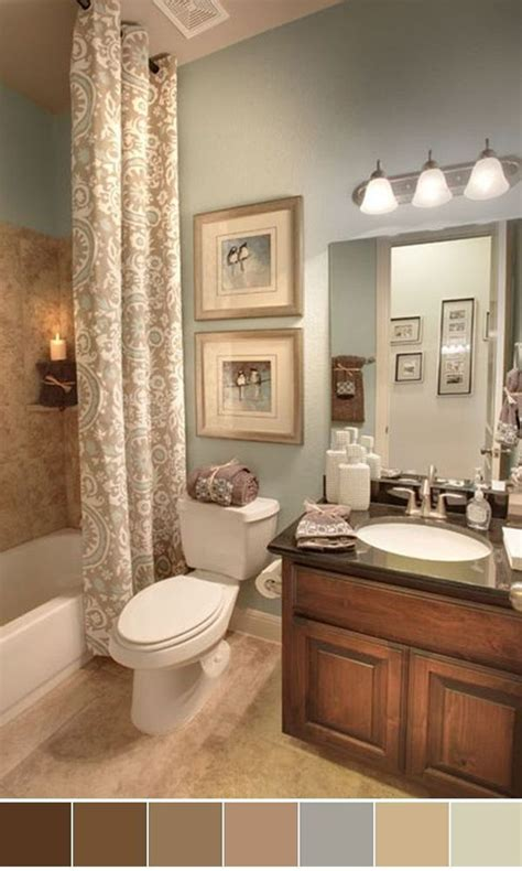25 beautiful bathroom color scheme ideas for small