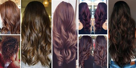 Brunette Brown Hair Color Shades And Looks