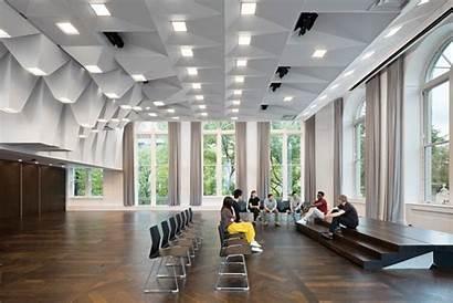 Lecture Hall Jamail Ltl Architects Joseph Interior