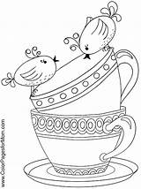 Coloring Coffee Tea Adult Printable Boston Drawing Sheets Adults Colouring Drinks Colorpagesformom Therapy Ship Wine Printables Getdrawings Getcolorings Templates Paper sketch template